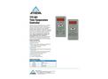 Athena - Model TTC001 - Time-Temperature Controls - Brochure