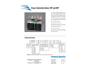 Athena - Model Series 19P - Single Phase Compact SCR Power Controls - Brochure