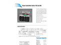 Athena - Model Series 19Z - Single Phase Compact SCR Power Controls - Brochure