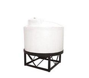 Chem Tainer - Model DC-501165-1.5 - 25 Gallon DuraCast Cone Bottom Storage Tank