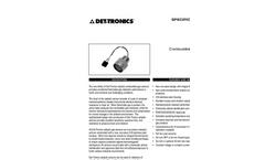 Catalytic Combustible Gas (CGS) Detector - Specification Brochure