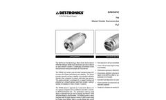 NTMOS H2S Gas Detector - Specification Brochure