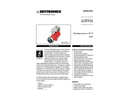 X3301 Protect·ir Multispectrum IR Flame Detector - Pulse Outout Brochure