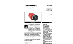 X2200 UV Flame Detector - Specification Brochure
