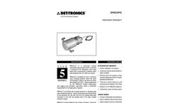 Volumetric (PIRVOL) IR Gas Monitor - Specification Brochure