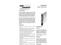 Single-channel Rack-Mounted Gas Controller (R8471) - Specification Brochure