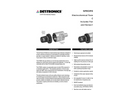 GT3000 Toxic Gas Detector - Specification Brochure