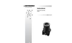 Infiniti Gas Transmitter U9500 Instructions Manual