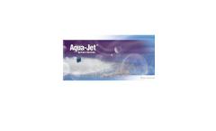 Aqua Jet - Surface Mechanical Aerator Brochure