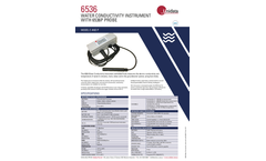 Unidata - Model 6536E, 6536P-2, 6528C, 6528B and 7422A - Water Quality Instruments and Probes - Brochure
