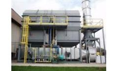 Thermal oxidation systems for manufacturing industries