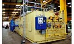 Thermal oxidation systems for wastewater