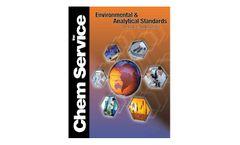 Environmental Standards & Analytical Standards Brochure