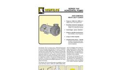 P-207 Series `HA` Horizontal Pumps Brochure