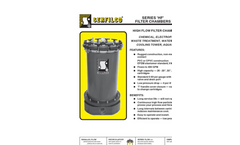 C-112 Series `HF` Plastic Filter Chambers Brochure