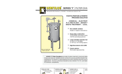 C-203 Series `Y` Rubber Lined Steel Filter Chambers Brochure