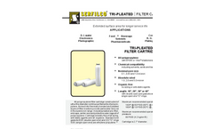 M-207 Tri-Pleated Filter Cartridges Brochure