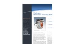 ENV21 - UniScreen - Stormwater Treatment System - Brochure