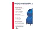 Predator - 1200 Series - Portable Air Scrubbers - Brochure