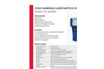 Model PC501 - Handheld Laser Particle Counter - Brochure