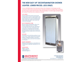 Abatement - Model EASY UP™ S4000EU - Collapsible Decontamination Shower - Datasheet