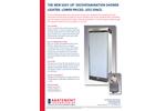 Abatement - Model EASY UP™ S4000EU - Collapsible Decontamination Shower - Datasheet