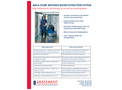 Abatement Technologies - Model Mega-Pump MP3000 - Water Extraction System - Brochure