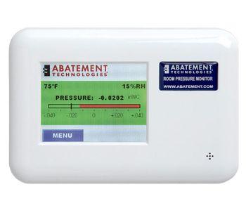 Abatement - Model RPM-RT2 - Dual Room Pressure Monitor