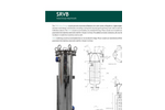 Strainrite - Model Bev-MAXX - Polyethersulfone Cartridges for Food & Beverage Sterilization - Brochure