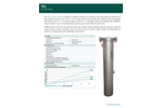 Strainrite - Model SRL - Low Flow Bag/Element Vessels Brochure