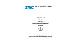 SMC - Model 5100-28-IT - Infrared Combustible Gas Sensor - Manual