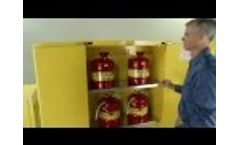 Safety Cabinets by Justrite - Video