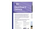 MeshGuard - Gamma Radiation Detector Brochure
