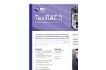 ToxiRAE - Model 3 - Portable Single-Gas Monitor Brochure