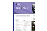 ToxiRAE - Model II - Single-Gas Monitor Brochure