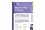 ToxiRAE - Model Pro - Wireless Single-Gas and Oxygen Detector Brochure