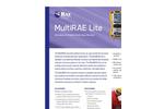 MultiRAE Lite Diffused - Wireless Portable Multi-Gas Monitor Brochure