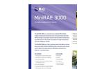 MiniRAE - Model 3000 - Wireless Handheld VOC Monitor Brochure