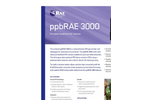 ppbRAE - Model 3000 - Wireless Handheld VOC Monitor Brochure