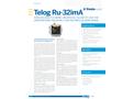 Telog - Model Ru-32imA - Wireless Multi-Channel Recording Telemetry Unit for Underground Pressure Brochure