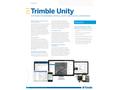 Trimble Unity - Smarter Water management Software Brochure