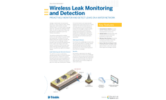 Trimble Unity LeakManager - Wireless Leak Monitoring and Detection Software Brochure
