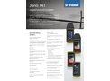Trimble Juno - Model T41 - Rugged Handheld Computer Mobile Devices Brochure