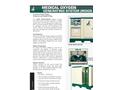 Model MOGS-50/100 - Medical Oxygen Generating System