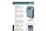 Model OG-15 - Oxygen Generator Brochure