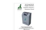Model OG-20 - Oxygen Generating System Manual