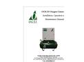 Model OGS-20 - Oxygen Generator - Manual