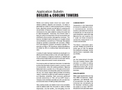 Boiler & Cooling Towers - Application Bulletin