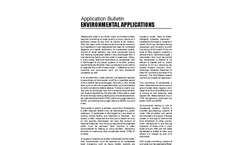 Environmental Applications - Application Bulletin