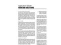 Fountain Solutions - Application Bulletin